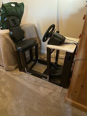 Racing Simulator Seat Home Made(  Wheel And Pedals Not Included ) • 20£