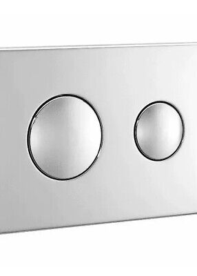 Ideal Standard Replacement Dual Flush Unbranded Flushplate Chrome S4399AA • 32.99£