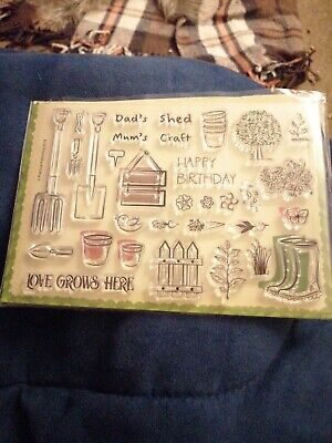 Clear Stamps For Card Making. Never Used.  • 4.20£