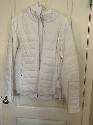 $ CDN228 • Buy Lululemon Extra Mile Jacket Size 10 White NWT