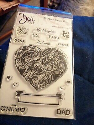 Clear Stamps For Card Making. DALI ART  • 1.50£