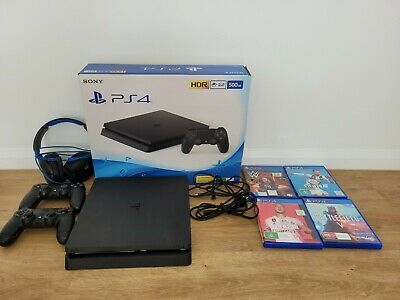 AU208.06 • Buy Sony PlayStation 4 Slim 500GB Black Console