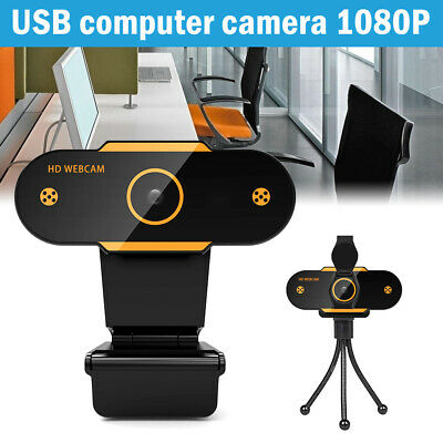 AU22.86 • Buy HD Gaming Webcam 1080P With Microphone USB 2.0 60 Fps PC Streaming Web Camera A/