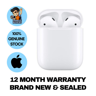 AU219 • Buy Apple AirPods (2nd Gen) With Charging Case Brand New & Sealed 12 Months WTY