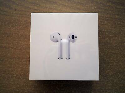 AU180 • Buy Airpods 2 2nd Gen With Charging Case MV7N2ZA/A Bluetooth IEMs - Brand New Sealed