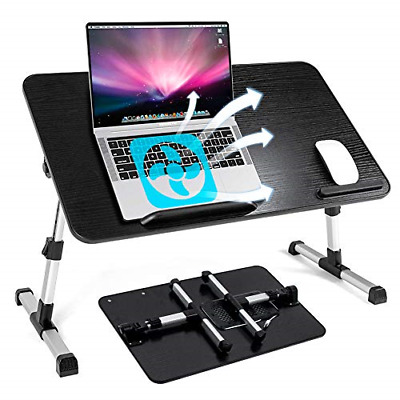 Labeol Adjustable Laptop Bed Table With Cooling Fan Ultra Large Foldable Laptop • 45.71£
