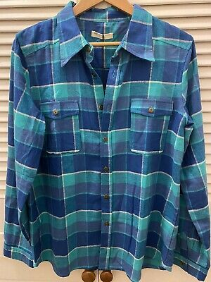 AU182.50 • Buy Spell And The Gypsy Maverick Flannel L Ocean