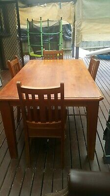 AU59.99 • Buy Used Furniture Dining Tables And Chairs