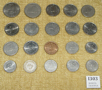 £9.99 • Buy COLLECTION OF 20x ASSORTED VINTAGE UNITED ARAB EMIRATES U.A.E COINS JOBLOT LOT