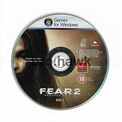 AU9.03 • Buy FEAR 2 Project Origin (PC) GAME DISC 1