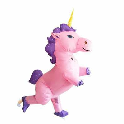 £39.99 • Buy Pink Unicorn Inflatable Costume Cosplay Party Fancy Dress Adult TWIN TURBO FANS