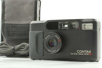 $ CDN2525.19 • Buy 【MINT In Case】 Contax T2 Limited Black 35mm Point & Shoot Film Camera 2000 JAPAN