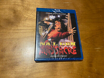 Nail Gun Massacre Blu Ray*Code Red*80's Horror Classic*Sealed/NEW*OOP*Rare* • 22.17£