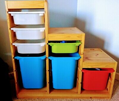 Children's Storage Unit - Ikea - Trofast • 39£