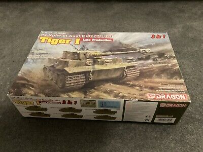 DRAGON 1/35 6406 German Tiger I Late Production • 55£
