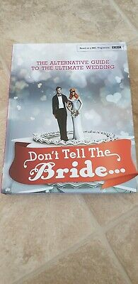 Dont Tell The Bride Book Brand New • 1£