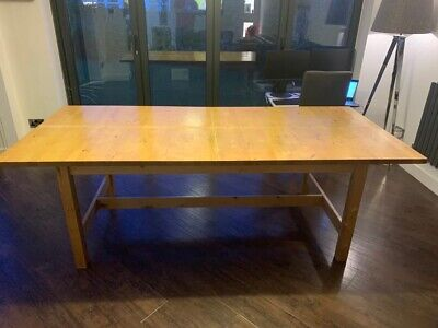 Ikea Dining Table And 6 Chairs • 14.20£