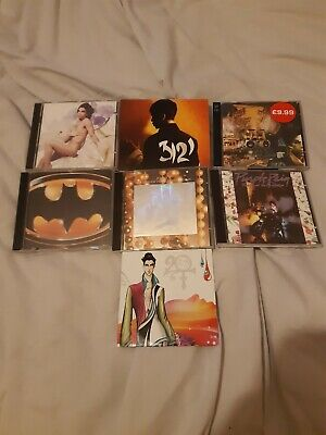 Prince CD Albums X7 Inc Purple Rain, Sign Of The Times & 2 DVDs Purple &Graffiti • 6.99£