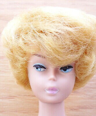$ CDN18.40 • Buy Vintage Blonde Bubble Cut Barbie Doll With Pink Lips