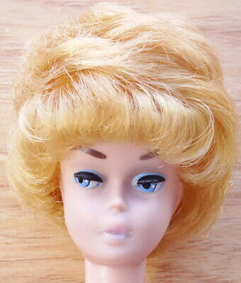 $ CDN16.29 • Buy Vintage Blond Bubble Cut Barbie Doll With Small Pink Lips