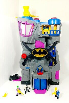 Imaginext Batman Batcave Fisher Price Large DC Toy Model Play Set With 4 Figures • 24.99£
