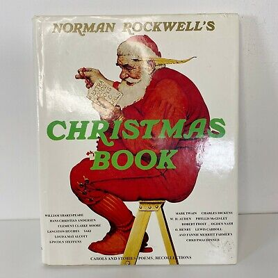 $ CDN29.10 • Buy Vintage Norman Rockwell Christmas Book Hardcover Dust Jacket 1977
