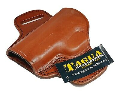 $31.42 • Buy Tagua Brown LEATHER LEFT Hand OWB Holster For Sig Sauer P228 M11A1 P229 NON RAIL