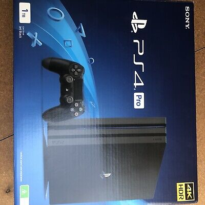 AU399 • Buy Sony Playstation 4 PS4 Pro Console 1TB Brand New Never Used