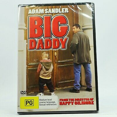 AU10.95 • Buy Big Daddy Adam Sandler DVD New Sealed
