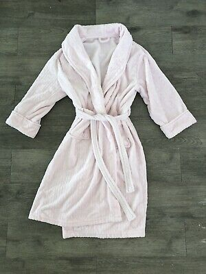 AU19.99 • Buy Womens Dressing Gown Size S Fit 10-12Pale Pink Knee Length Robe