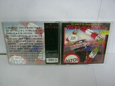 Cd Album Teenage Rebels The Sound Of The Legendary 60's & 70's 6337 • 2.50£