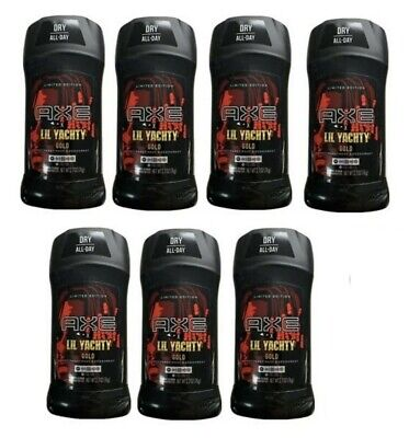 Axe LIMITED EDITION Lil Yachty Gold - SET (7) 2.7 Oz Antiperspirant Deodorant  • 32.25£