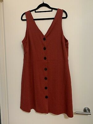 AU10 • Buy New Look Pinafore Dress - Size 18