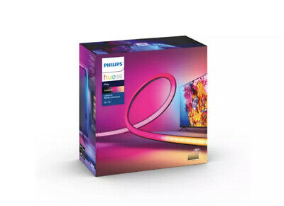 """AU502.45 • Buy 🔥Philips Hue Play Gradient Lightstrip For 75""""+ TVs New Factory Sealed Ships Now"""