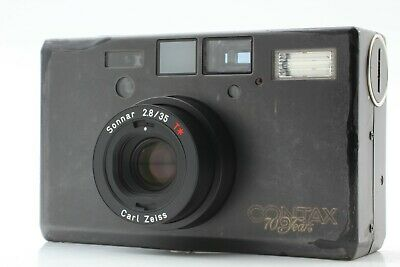 $ CDN2746.56 • Buy 【CLA'd Exc+5】 Contax T3 Black 70th Years Limited Double Teeth Film Camera Japan