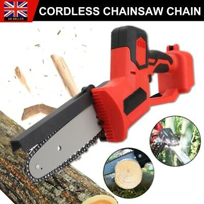 Electric Cordless Chainsaw Chain Saw Cutting Tool For 18V Battery Makita Garden • 56.99£