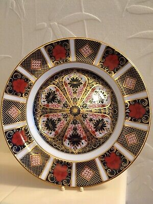 Royal Crown Derby Old Imari Plate             21 Cm /8.5 Inches Diameter • 40£