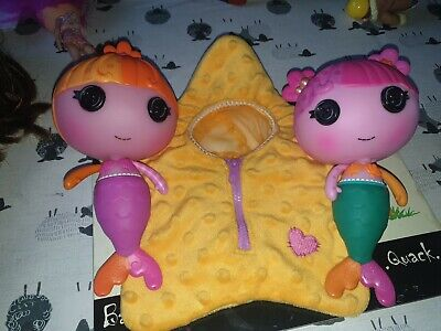 Lalaloopsy Mermaid Little Sister Dolls With One Star • 8£