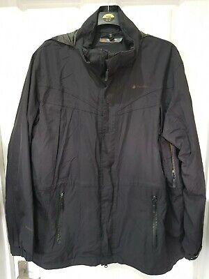 GC Men's Black PETER STORM 'STORMSHIELD' Jacket Multi Pockets Hooded XL - 2XL • 2.99£