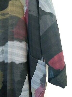 Made In Italy, Lagenlook Tunic, Quirky, Boho, Arty, Oversized, OSFA, Plus Size,  • 10.50£