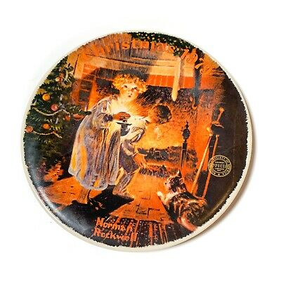 $ CDN19.92 • Buy Knowles Norman Rockwell 1979 Somebody's Up There Collector Plate Christmas