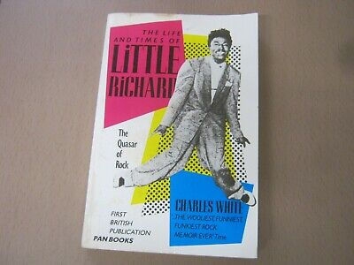 Music Book Paperback THE LIFE & TIMES OF LITTLE RICHARD (9) • 2.50£