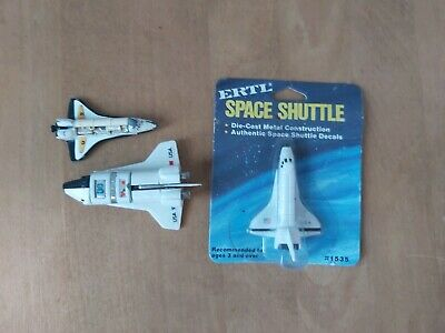 Old ERTL Space Shuttle Boxed & Space Shuttle Diecast Toys • 14.95£