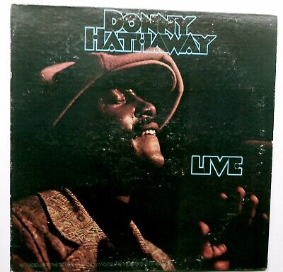 DONNY HATHAWAY ..... LIVE ..... 1st Press LP From 1972  .... Nice Copy .... RARE • 35.49£