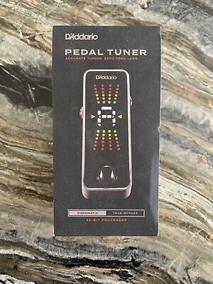 $ CDN50.75 • Buy D'Addario Planet Waves PW-CT-20 Chromatic Guitar Tuner Pedal VG Cond