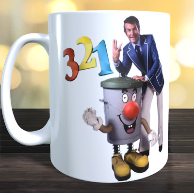 3-2-1 TED ROGERS DUSTY BIN 321 TV ADVERTISING POSTER  Mug 11oz  • 6.79£