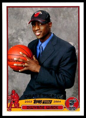 $ CDN190.31 • Buy Dwyane Wade 2003-04 Topps Draft Pick Rookie Card #225 Mint Condition Centered