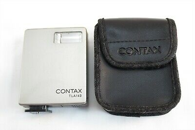 $ CDN69.43 • Buy 【EXC+++】Contax TLA 140 Shoe Mount Flash For G1 G2 W/ Case From Japan #3243