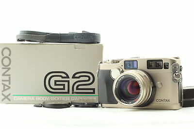 $ CDN2227.62 • Buy 【 MINT In Box 】 Contax G2  Rangefinder Film Camera Body 45mm F/2 Lens From JAPAN