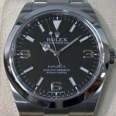 $ CDN12181.19 • Buy Rolex Explorer 214270 Rare Box And Papers 39mm